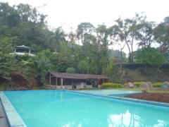 The inviting pool at Limbe's Miramar Hotel
