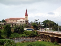 Kribi cathedral