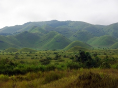 The gorgeous landscape of Congo's highlands