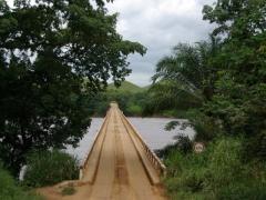 Crossing the Niari River