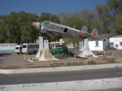 Airplane memorial at Djibouti Airport