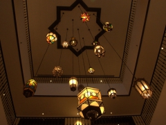 Lanterns; Kempinski Hotel
