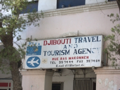 Travel agencies were few and far between in downtown Djibouti. The majority of tourists hail from France
