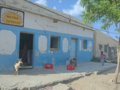 "Outside of Djibouti city, the villages and towns are relatively ""sleepy"", such as this one"