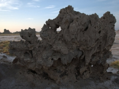 Limestone chimney formation