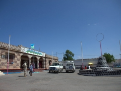 Dikhil's traffic circle