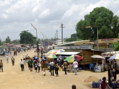 Muanda street scene