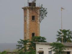 Muanda church tower