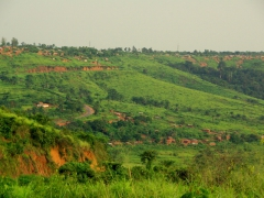 Beautiful scenery on our drive towards Matadi