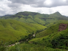 The gorgeous countryside near Matadi