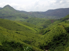 The beautiful rolling hills of Matadi