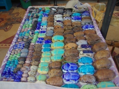 Scarab beetles for sale; Nubian Village