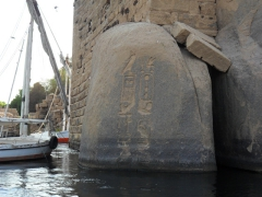 A nilometer on Elephantine Island