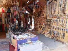 Souvenirs for sale in the Nubian Village