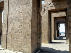 Carved doorways of Kom Ombo Temple