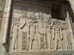 The vivid workmanship on the Kom Ombo temple is quite remarkable