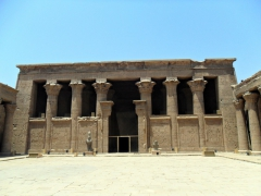 The Temple of Edfu is the most completely preserved Ptolemaic temple in Egypt