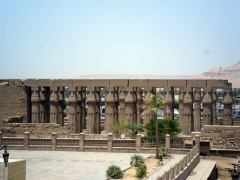 Luxor Temple is smack dab in the middle of Luxor and it seems foolish to pay an entry fee when it can so easily be seen simply by walking around the entire complex