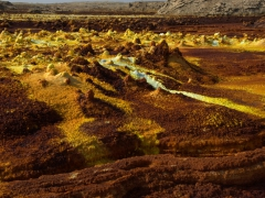 Dallol lives up to its reputation as one of the world's most spectacular landscapes