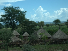 As we started our drive from Arba Minch to the Omo Valley, dwellings (such as this one) became more and more common