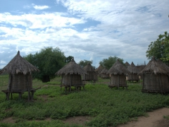 Food storage huts in the village of Kolcho (home to the Karo tribe)