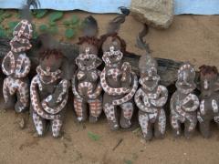 Fragile clay souvenirs