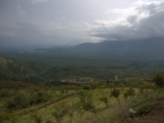 Lookout point over Mago National Park, home to the famous Mursi Tribe