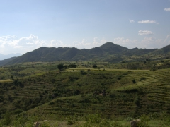 Another view of the beautiful UNESCO world heritage terraces of Konso