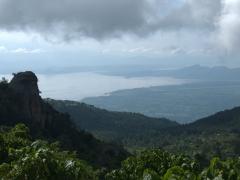 Viewpoint over Lake Chamo and Lake Abaya from the highland area near Chencha