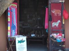 Zambia souvenir stall; Batoka Sky