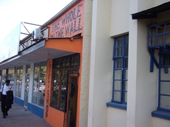 """The Whole in the Wall"" gift shop; Livingstone"