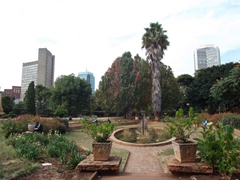 City view beyond the Harare Garden