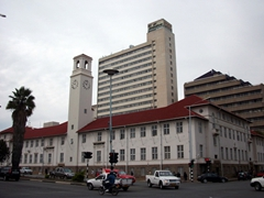 View of downtown Harare