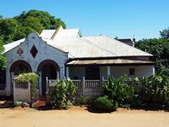 An interesting entrance portal; house in Bulawayo