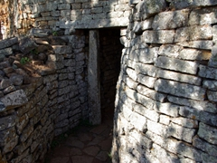 Entrance portal to the Hill Complex; Great Zimbabwean Ruins