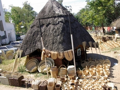 Crafts for sale in the Avondale district of Harare