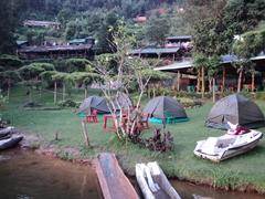View of the Bunyonyi Overland Resort