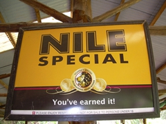 Nile Special Beer is one of Uganda's most popular drinks