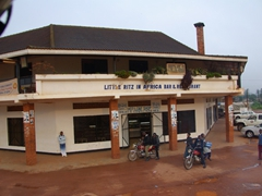 "Kabale's best bakery can be found at the ""Hot Loaf Shop"" where delicious samosas and pastries can be bought for cheap"
