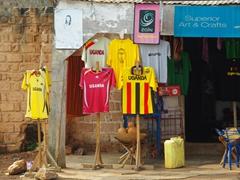 Uganda football shirts for sale; Equator