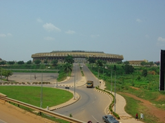 View of the Kampala football stadium