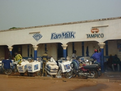 Fan Milk ice cream was one of our most highly sought after treats in Togo