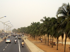 The capital city of Lomé is built right on the beach and is an easy place to explore on foot