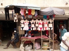 Bikinis for sale at Lomé Grand Marche