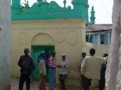 Snapshot of the 500 year old Egyptian Mosque; Harar