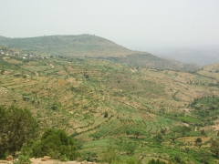 The Ethiopian countryside has been shaped and moulded by countless farmers with their oxen plows