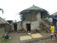 Lalibela village scene