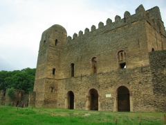 This castle, Adiam Seghed Iyasu's castle, was built in the 1682 - 1706; Royal Enclosure of Gondar