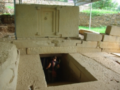 Entering into the Tomb of the False Door; Axum