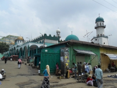 Mosques in the Muslim section of the mercato; Addis Ababa